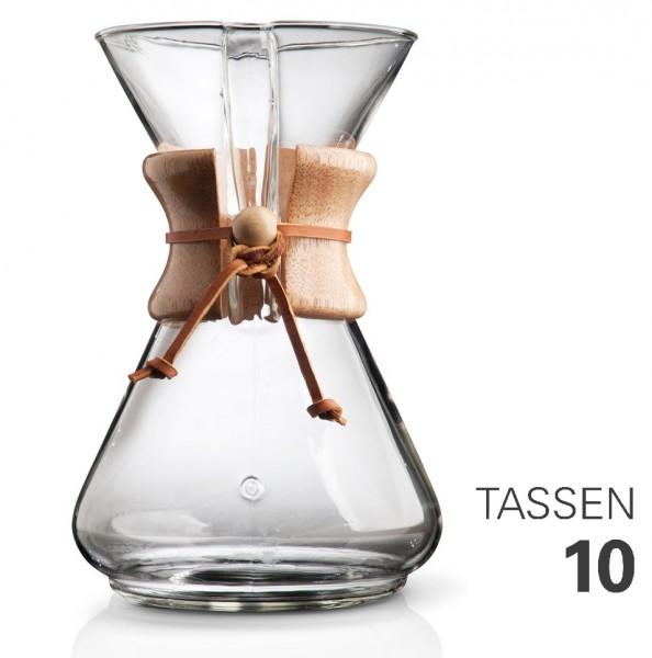 Chemex Kaffeebereiter Karaffe für 10 Tassen