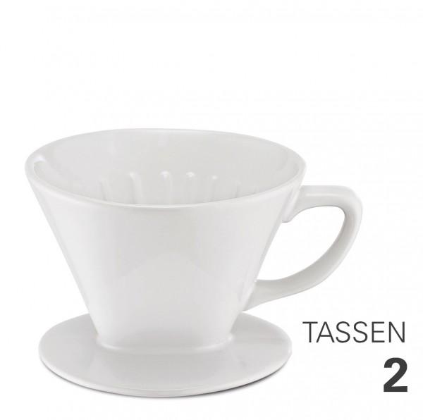 Kaffeefilter aus Porzellan Gr. 2 von Weis