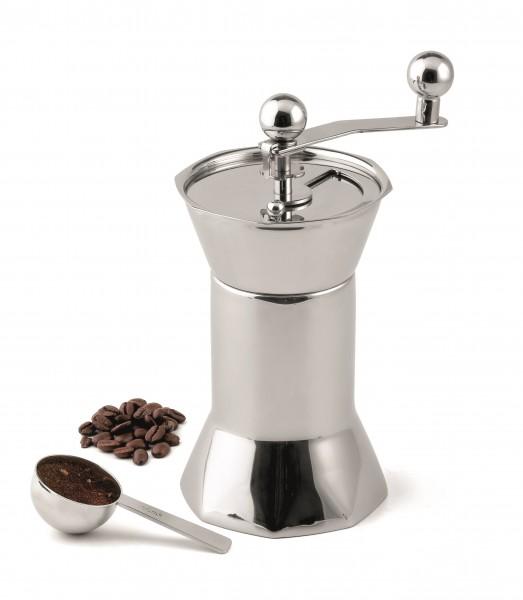 Kaffeemühle aus Edelstahl