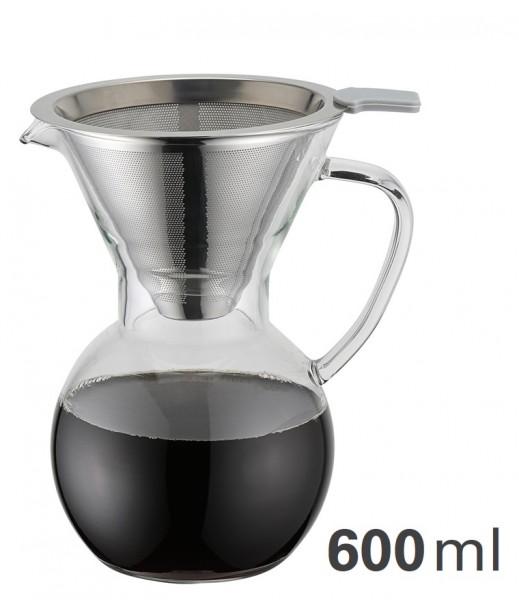 Pour Over Kaffeebereiter inkl. Dauerfilter