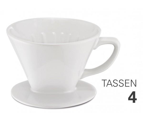 Kaffeefilter aus Porzellan Gr. 4 von Weis