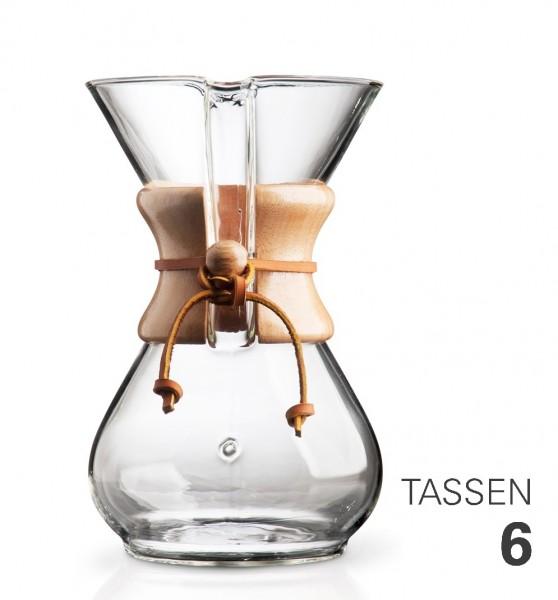 Chemex Kaffeebereiter Karaffe für 6 Tassen