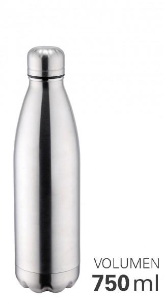 Thermoflasche 750 ml doppelwandig vakuumisoliert