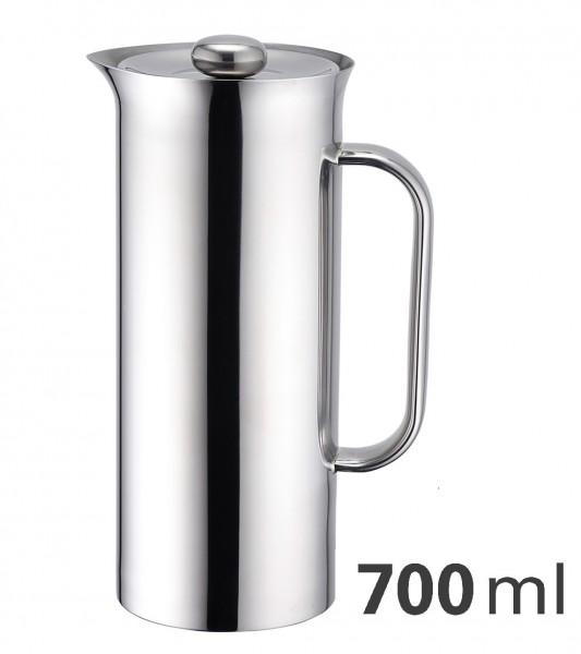 Pressfilterkanne doppelwandig thermoisoliert 0,7 Liter