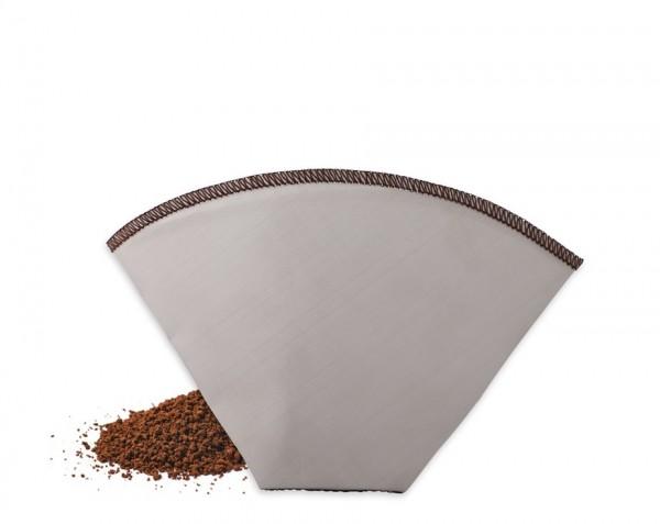 Kaffeedauerfilter aus Edelstahlgewebe, Gr. 2
