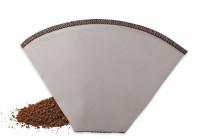 Kaffeedauerfilter aus Edelstahlgewebe, Gr. 4