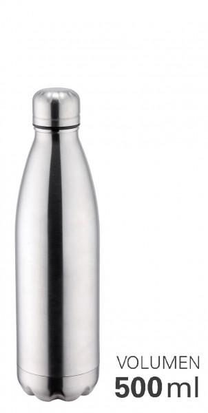 Thermoflasche 500 ml doppelwandig vakuumisoliert